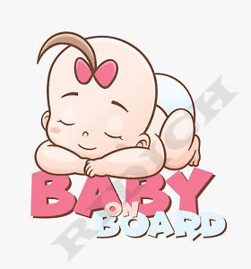 Baby-on-Board-Sticker-Vinyl-Decal-Baby-Girl-Sleeping