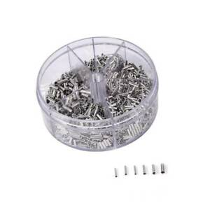 1900pcs Insulated Cord Pin End Terminal Copper Crimp Wire Connector 0.5-2.5mm²