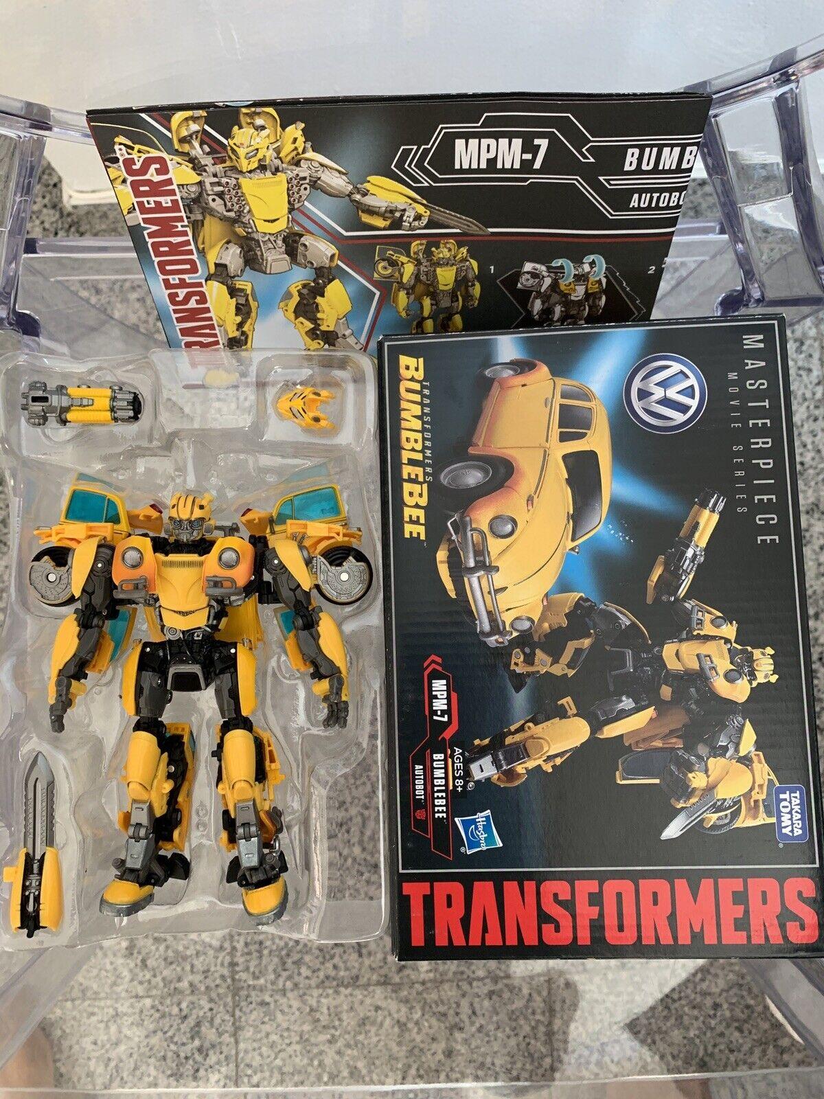 Transformerscapolavoro MOVIE MPM7 Bumblebee cifra Da Film USATO PERSONALIZZATE