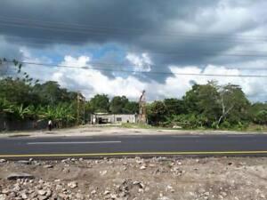 Terreno comercial en venta sobre carretera Cardenas villahermosa