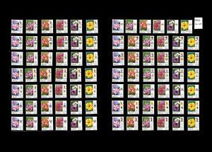 Malaysia-Definitive-Garden-Flowers-2009-Set-of-84pcs-MNH-14-states