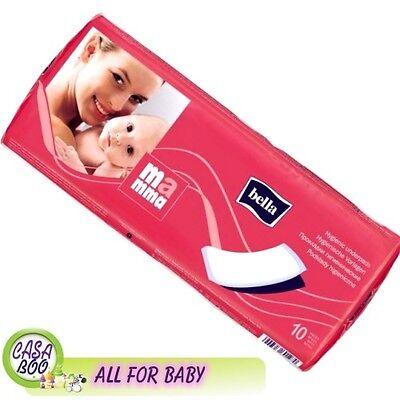 10 Pastiglie Di Maternità 11x34cm Post-partum Igiene Bella Mamma Auricolare- Essere Distribuiti In Tutto Il Mondo