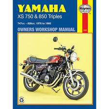 workshop manual yamaha xs750 1976 1982 xs850 1979 1985 ebay rh ebay co uk Yamaha XS Cafe Yamaha XS Cafe Racer