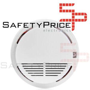 Detector De Humos Techo Alarma Anti Incendios Fuego No Fumadores Sensor Valeur Formidable