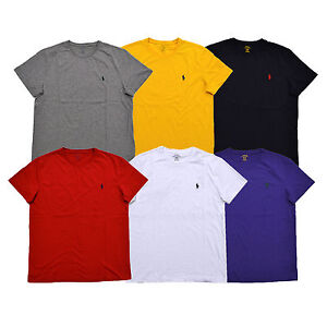clearance sale hot products good out x Details about Polo Ralph Lauren T-shirt Mens Standard Fit Crew Neck Tee  Pony Logo Prl New Nwt