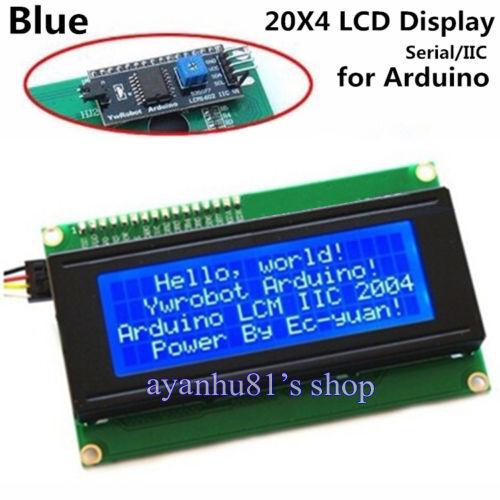 Serial IIC I2C TWI 20X4 204 2004 Character 5V LCD Module Display Screen Arduino