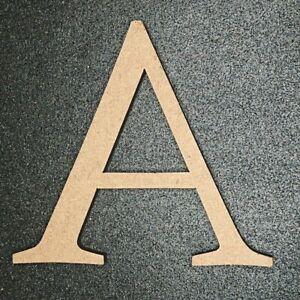 Craft Alphabet Letters 10cm x 6mm Wooden MDF LETTER E Buy 3 Get 1 Free