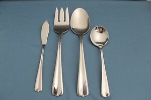 Tablespoon-Serving-Spoon-Meat-Fork-Butter-Sugar-Oneida-GALA-IMPULSE-Stainless