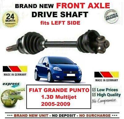 FIAT GRANDE PUNTO 1.3 D MULTIJET DRIVE SHAFT OFF//SIDE 2005/>ONWARDS