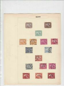 Egypt Stamps Ref 15081