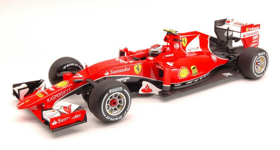 Ferrari Sf15-T K.Raikkonen 2015 N.7 2Nd Bahrain Gp 1 18 Looksmart LS18F102
