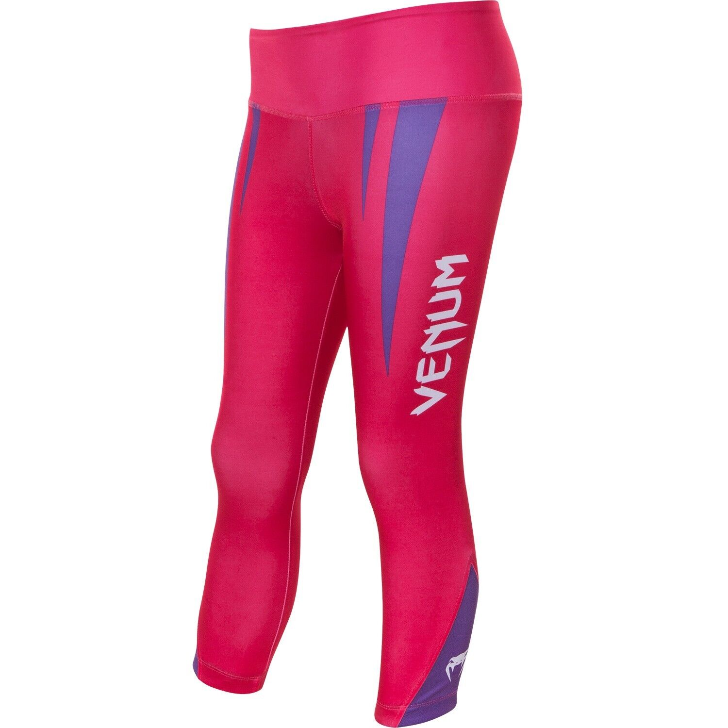 Venum Body Fit Ladies Leggings - Pink Purple - Gym Tights Fitness Pants