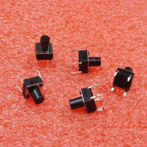 30Pcs Tactile Push Button Switch Tact Switch 6X6X8mm 4-pin DIP
