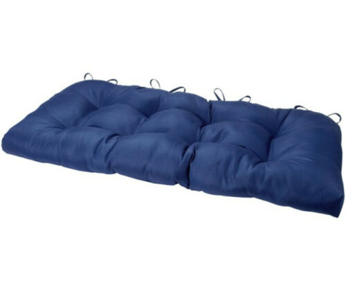 """42/"""" Solid Bench Seat Outdoor Patio Cushions Wicker Furniture Cushion Replacement"""