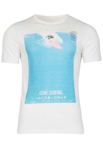 Jack /& Jones T-shirt da uomo con girocollo a maniche corte SPORT Clubwear UVP fino al 14,99