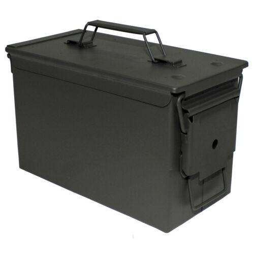 m2a1 50 mm cal US munitions boîte Métal Caisse Box cantine 30x16x19cm