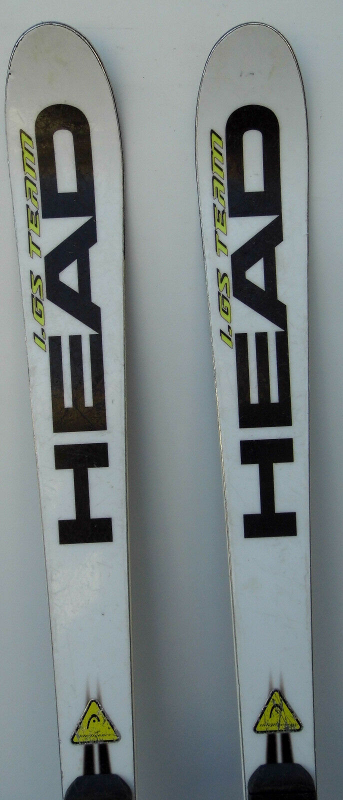 Skis parabolic used HEAD Worlducp Rebels I.GS Team - 62 3 16in et 65in