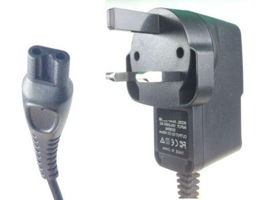 3 Pin UK Cavo di alimentazione caricatore per Philips Rasoio rq1280