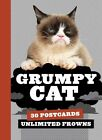 Grumpy Cat Postcard Book Chronicle Books or Pack 9781452141800
