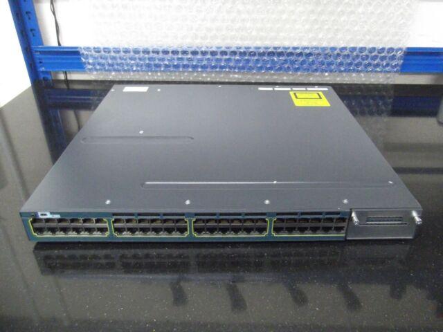 Cisco Catalyseur WS-C3560X-48T-S 48 Ports Gig Interrupteur 2 X C3KX-PWR-350WAC