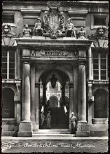 cartolina GENOVA portale di palazzo tursi (municipio)