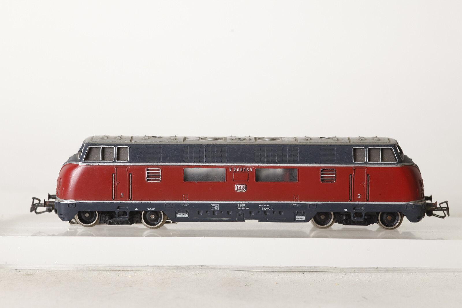 Märklin H0 3021 Diesel Locomotive V200060 Red Cast (4113)