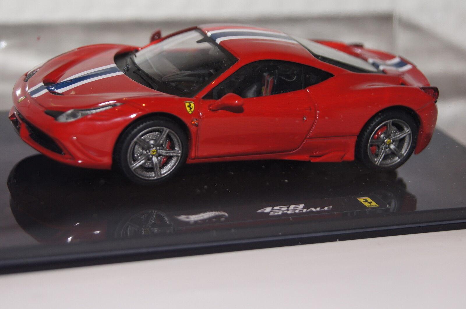 Ferrari 458 Speciale red 1 43 Hot Wheels neu & OVP BLY45
