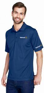 NEW Walmart Associate Employee Mens large navy blue polo shirt ...