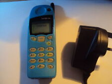 ORIGINAL RETRO BABY BLUE Nokia 5110 UNLOCKED  MOBILE PHONE+CHARGER+BATTERY