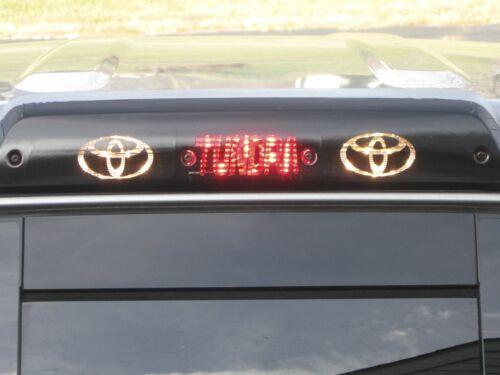 Toyota Tundra 3rd brake light decal overlay 2007 2008 2009 2010 2011 2012 2013