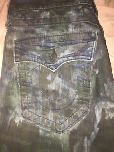 taglia True Camo Religion 30 Blue Jeans wSxTqAOzTg