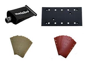 Metabo Haftschleifblätter 115x230mm SR SRE Schleifplatte Staubbeutel
