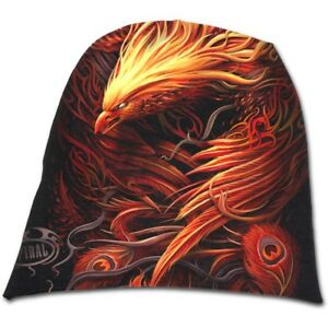 862362972f1 Image is loading Spiral-Direct-PHOENIX-ARISEN-Light-Cotton-Beanies-Flames-