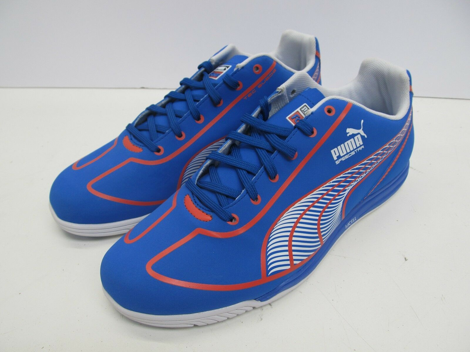 NEW Donna TRAINING / INDOOR SOCCER scarpe - PUMA FAAS SPEED STAR - PALACE blu
