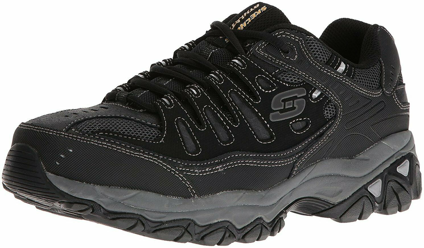 Skechers Skechers Skechers Uomo Afterburn Memory-Foam Lace-up scarpe da ginnastica - Choose SZ Coloree c0bc0c