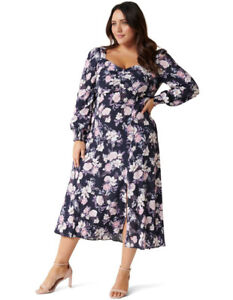 NWT FOREVER NEW Jillie Curve Printed Maxi Dress - size 16  / 20 - RRP $149.99
