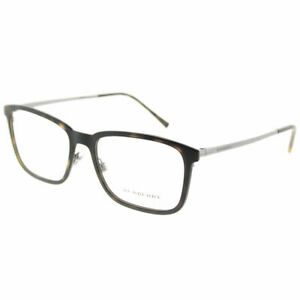 c87d217fd646 Burberry BE 1315 1008 Matte Dark Havana Plastic Rectangle Eyeglasses ...