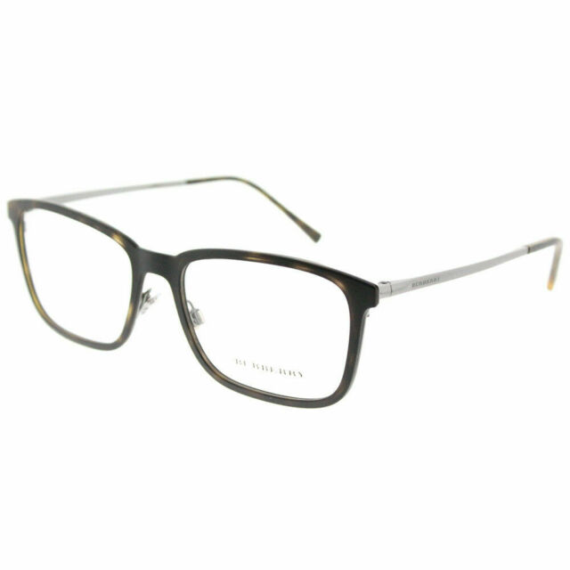 c6c8764c8659 Burberry BE 1315 1008 Matte Dark Havana Plastic Rectangle Eyeglasses 54mm