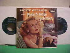 JACKIE GLEASON PRESENTS MUSIC TO MAKE YOU MISTY 45 RPM EP TWO RECORDS CAPITOL