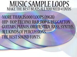 Details about 19 GB MUSIC SAMPLE & LOOPS (windows & mac) hip  hop/r&b/reggaeton/pop/techno