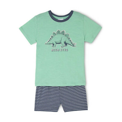 NEW Milkshake Essentials Short Sleeve Pyjama Set Green