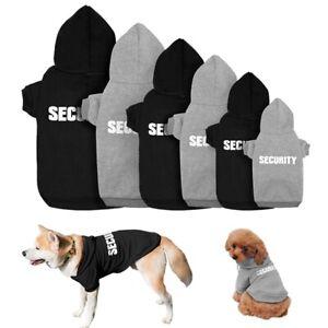 SECURITY-Hund-Kapuzenpullover-Sweatshirt-Pullover-Welpe-Mantel-Winterbekleidung