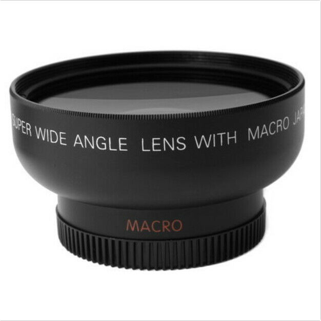 NEW! 43mm 0.45x Wide Angle Lens & Macro Conversion Lens 0.45x 43 +Gift For DSLR