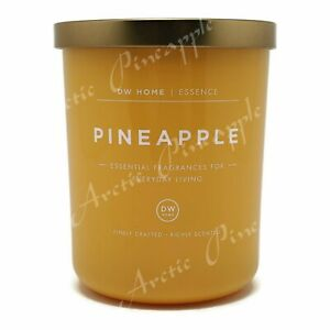DW-Home-Essence-Large-15-9oz-Single-Wick-Scented-Candle-Jar-Pineapple
