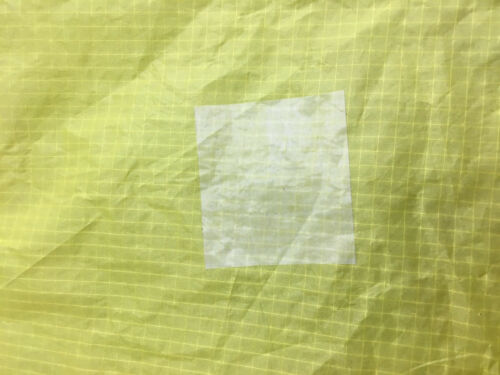 Ripstop Kite Paraglider Sail Repair Nylon Tape Roll in Clear//White 2 in by 25 ft