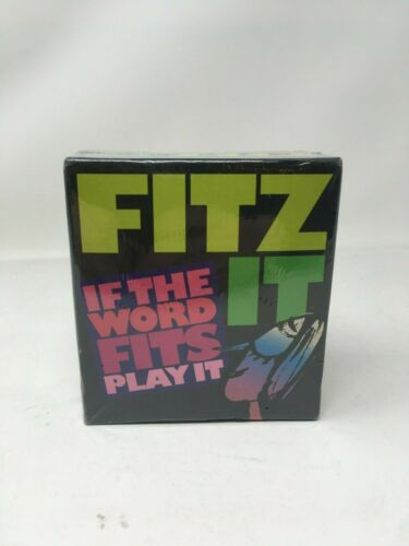 Fitz It Game If the Word Fits Play It Gamewright