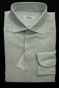 BELVEST-by-Finamore-Napoli-Shirt-Cotton-Linen-Striped-Light-Green-15-1-2-39-Reg