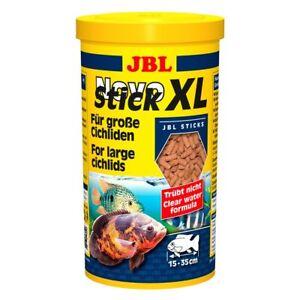 3 pièces Jbl Novostick M, X 1 L, pour cichlidés carnivores