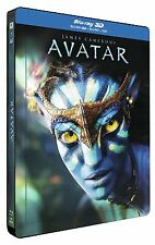 AVATAR STEELBOOK 3D+2D BLURAY +DVD French Edition LENTICULAR Magnet *REGION FREE