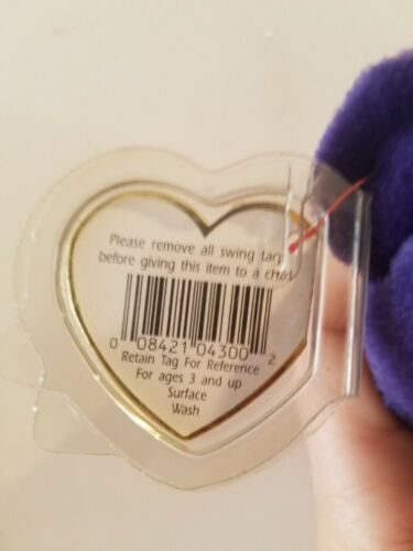 Details about  /Princess Diana TY Beanie Baby RARE PERFECT MINT CONDITION.